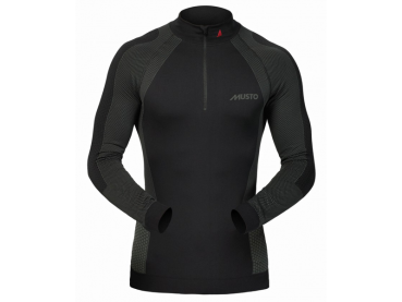 Active Base Layer Zip Neck Top